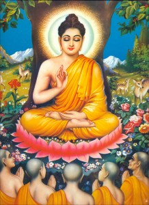 The Buddha in his Enlightenment